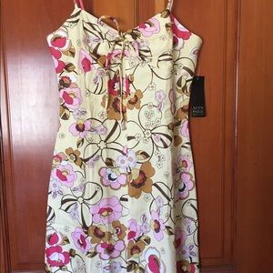 Alyn Paige yellow floral sundress
